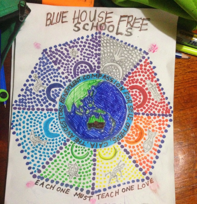 James' Blue Fre House Free School